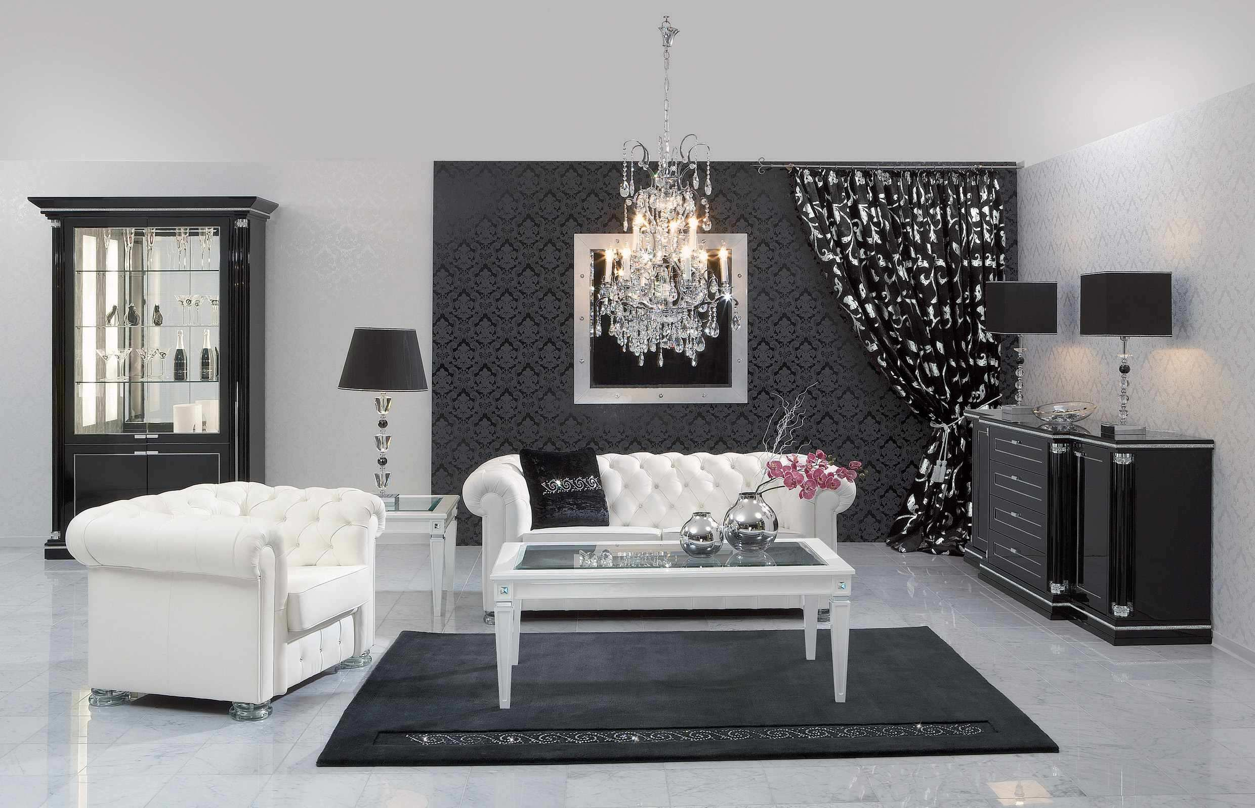 GUEST POST - Decorating With Black and White
