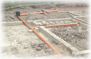 Groundwork and Drainage For New Builds and Extensions